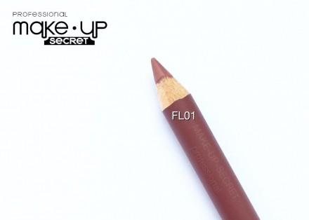 Карандаш для губ Lip Pencil  MAKE-UP-SECRET FL01: фото