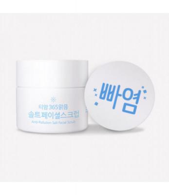 Скраб для лица TIAM Anti-Pollution Salt Facial Scrub 80мл: фото