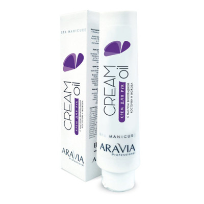 Крем для рук с маслом виноградной косточки и жожоба Aravia Professional Cream Oil 100мл: фото