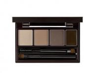 Набор для макияжа бровей THE SAEM Eco Soul Multi Brow Kit 01 Natural Brown 3,8г: фото