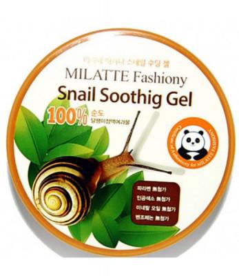 Гель универсальный увлажняющий Milatte Fashiony Snail Soothing Gel 300мл: фото