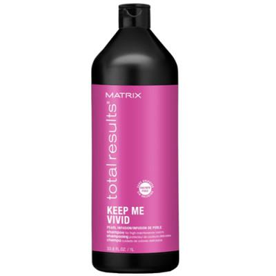 Шампунь для окрашенных волос Matrix Total results Keep me vivid 1000мл: фото