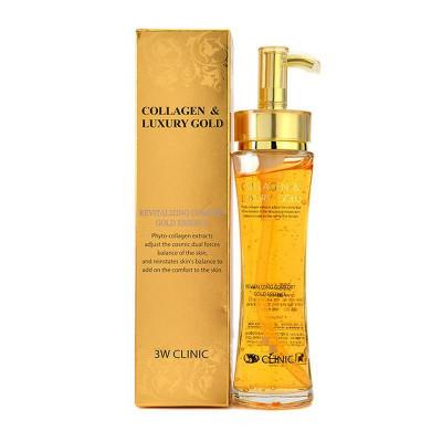 Эссенция для лица 3W CLINIC Collagen & Luxury Gold Revitalizing Comfort Gold Essence: фото