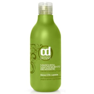 Шампунь-СПА с шелком для поврежденных и слабых волос Constant Delight Benessere Seta shampoo 250 мл: фото