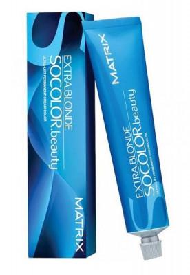 Краска суперосветляющая MATRIX Socolor beauty ExtraBlonde V+ Перламутровый 90 мл: фото