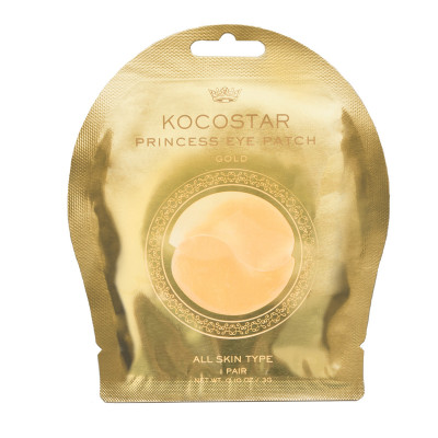 Патчи для глаз гидрогелевые с коллоидным золотом Kocostar Princess Eye Patch Gold 3г: фото