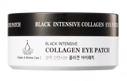 Патчи для глаз гидрогелевые с коллагеном HANIxHANI Black Intensive Collagen Eye Patch 60 шт: фото