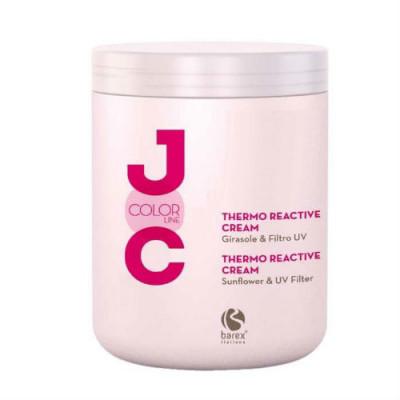 Крем термозащитный для окрашенных волос Barex JOC Color line 1000 мл: фото
