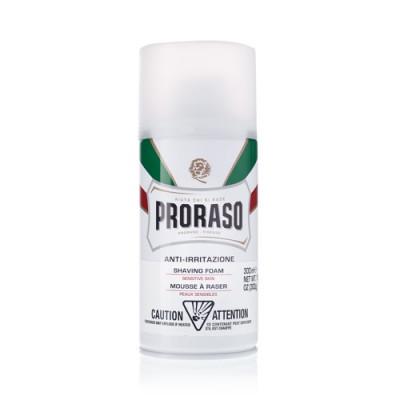 Пена для бритья для чувствительной кожи PRORASO GREEN TEA AND OATS 50 мл: фото