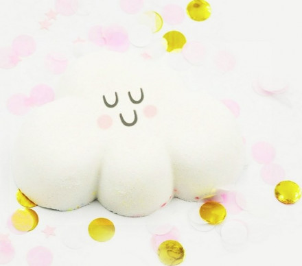 Бомбочка для ванны Радужное облако BOOM SHOP cosmetics 120 г: фото