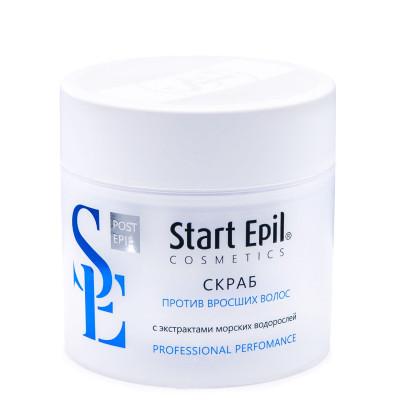Скраб против вросших волос с экстрактами морских водорослей ARAVIA Professional Start Epil 300мл: фото